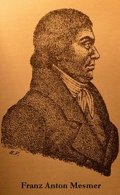 Franz Anton Mesmer in un ritratto d'epoca