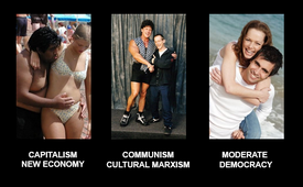 New Economy Cultural Marxism Moderate Democracy_