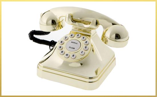 telefono-bianco-cornice-oro