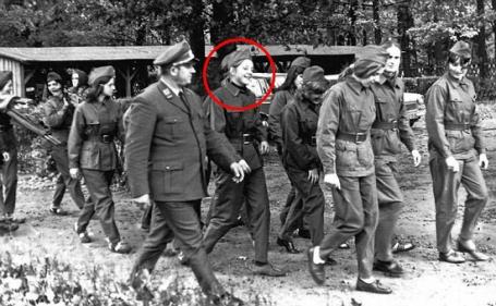 Angel Merkel oltre la Cortina di ferro.