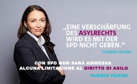 Yasmin Fahimi - Sozialdemokratische Partei Deutschlands (SPD)
