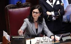 Laura Boldrini. Funzionaria e politica. Presidente, pro tempore, Camera dei Deputati