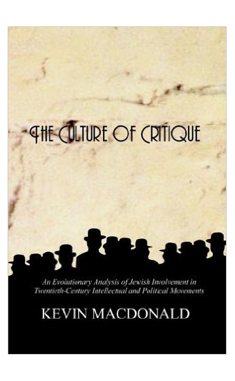 Kevin MacDonald by The Culture of Critique