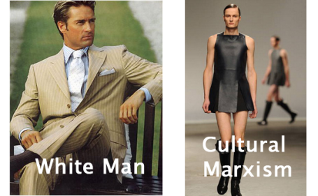 White Man VS Cultural Marxism. Per il Marxismo Culturale il Maschio Bianco è il pericolo da abbattere. Questi sono alcuni degli accorgimenti usati per distruggerlo psicologicamente.