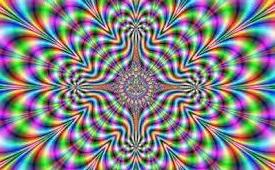 Uno strumento ottico per stancare gli occhi e suscitare la trance