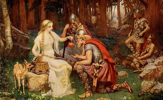 Idun and the apples