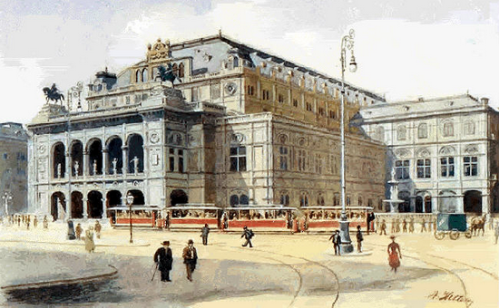 Adolf Hitler - L'Opera di Vienna