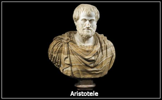 Il busto di Aristotele