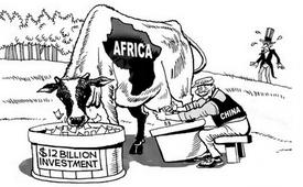 Il landagrabbing della rapace Cina in Africa