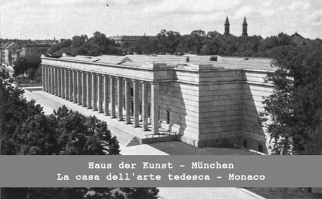 La casa dell'arte tedesca, Monaco - Haus der Kunst, München