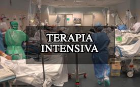 Un reparto di terapia intensiva Covid-19